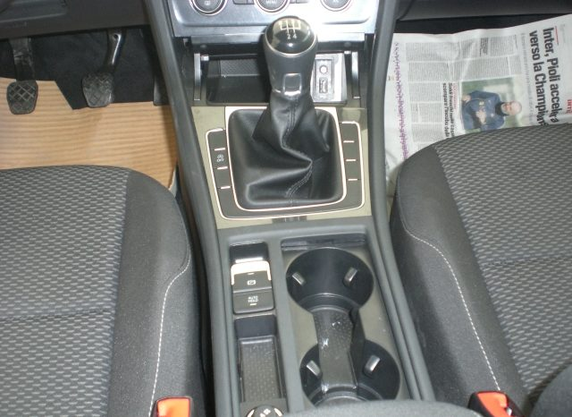 CIMG5412-640x466 Volkswagen Golf VII Nuovo Modello 1.6 TDI 115cv 5 p. Business + App Connect